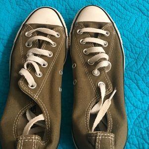 Olive Converse Chucks